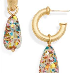 NWT Madewell Abstract Dangle Earrings